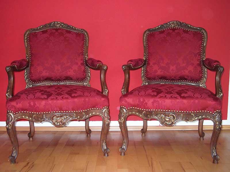 Stühle neu beziehen mit stoff